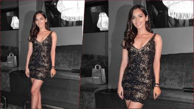 Manushi Chhillar Stuns in a Sexy Rocky S Bodycon Dress, Check Out Photo of Former Miss World